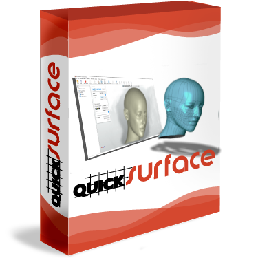 Quicksurface freeform software box
