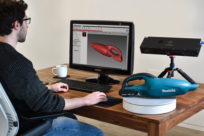 Automate The 3D Scanning Workflow